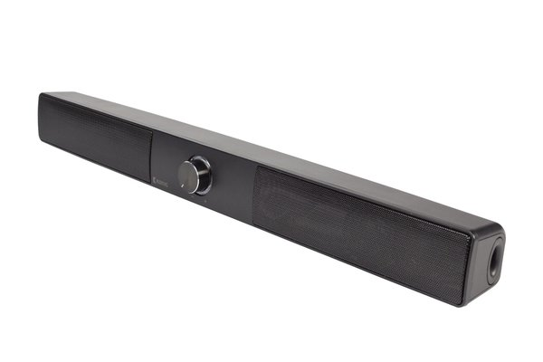 Soundbar Bluetooth 15 W Schwarz